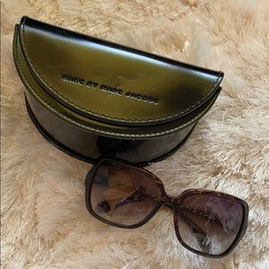 Marc Jacobs Tortuous oversized Sunglasses